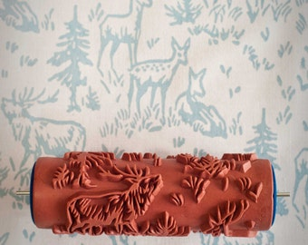 No. 6 Patterned Paint Roller from The Painted House