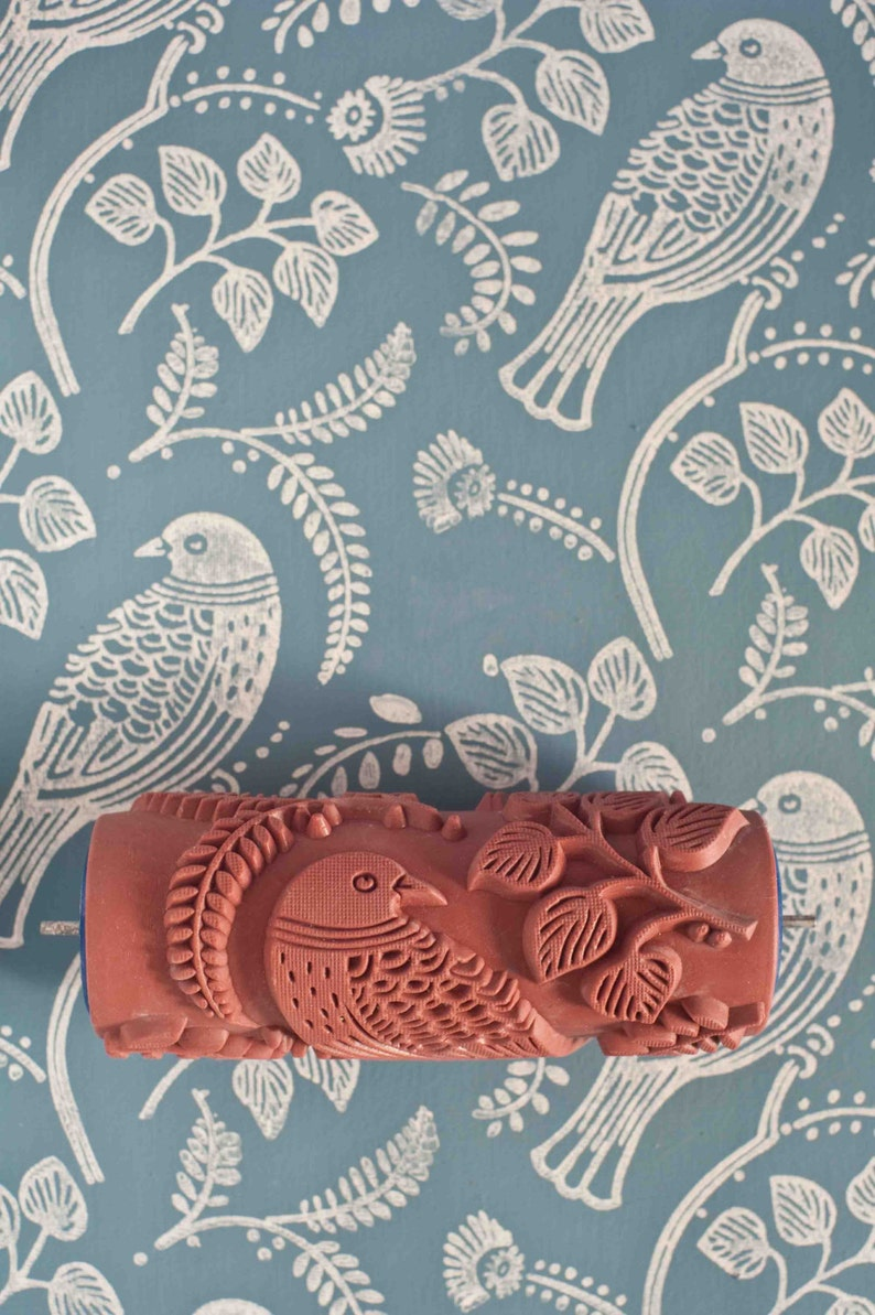 Tuvi patterned paint roller from The Painted House image 0