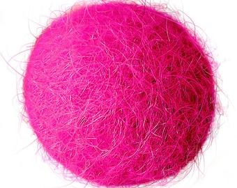 FELT BALL #39 magenta; sizes: 1cm, 1,5cm; 2cm, 3cm, 3,5cm, 4cm, 5cm ....