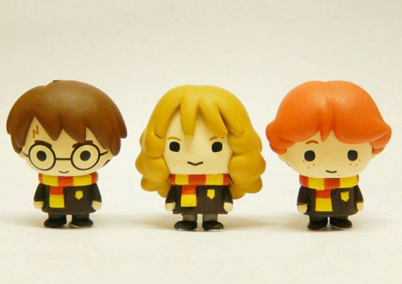 Collier Kawaii Japonais Chibi Harry Potter Personnage Gashapon Etsy