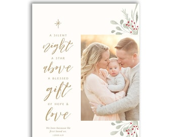 religious christmas card template etsy