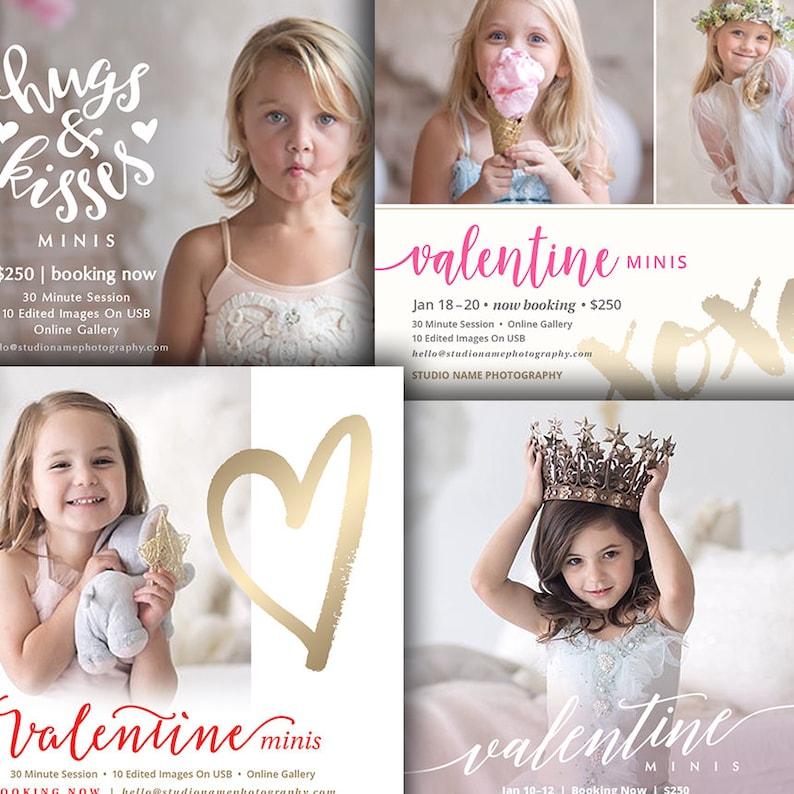 Valentine's Day Mini Session Marketing Board  image 0