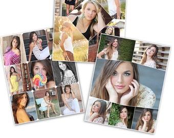 Print Collage Blog Storyboard Photoshop Templates - 3 Pack Bundle - 1106
