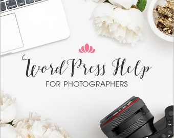 WordPress Help For Photographers • WordPress Theme Design • WordPress SEO