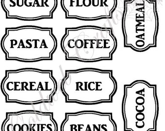 items similar to dry erase peel and stick labels vinyl decal