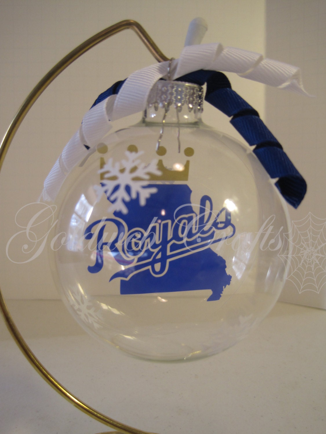 Kansas City Royals Inspired Floating Glass Ball Christmas | Etsy