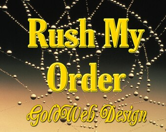 Rush My Order - Order Ships out in 1-2 Business Days