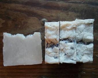 Lavender Mud Soap // Bentonite, Lard, All Natural