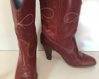 3fa79bb7490 Heeled cowboy boots | Etsy