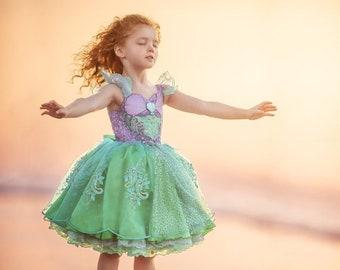 HALLOWEEN_ORDERS_CLOSED Ariel Mermaid Play-Friendly Couture Dress