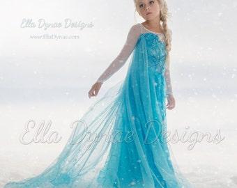 Delightful Original Ella Dynae Custom Elsa Costume