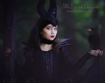 halloween_delivery maleficent gown