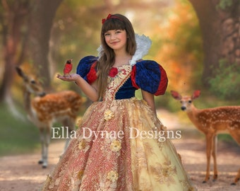 HALLOWEEN_ORDERS_CLOSED NEW Royal Couture Snow White Dress