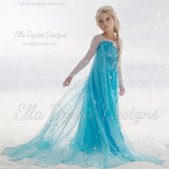 original ella dynae custom elsa kostum
