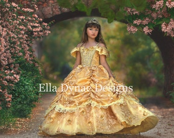 HALLOWEEN_ORDERS_CLOSED NEW Royal Couture Belle Dress