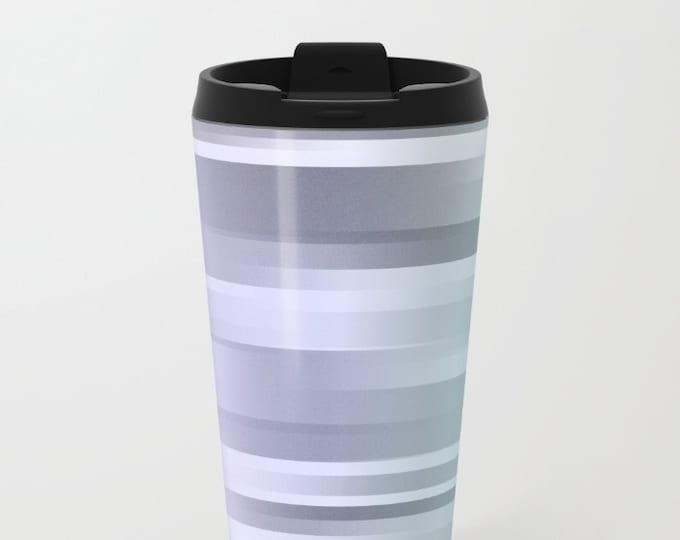 Travel Mug Metal - Coffee Travel Mug - Hot or Cold Travel Mug - 20oz Mug - Stainless Steel - Made to Order