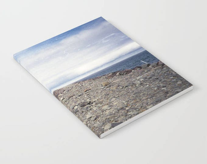 Notebook - Rockaway Beach Oregon - Beach Theme Notebook - Journal - Blank Book - Lined - Unlined - Made to Order