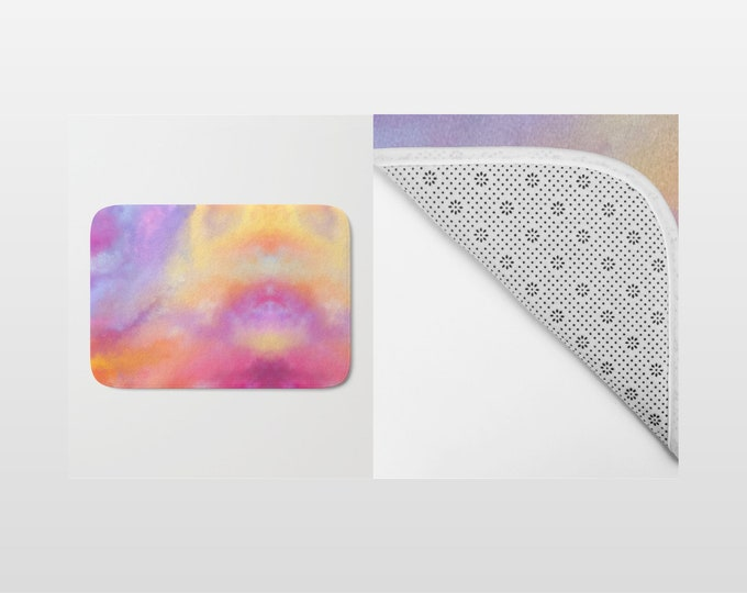 Bath Mat - Colorful Bath Mat - Shower Mat - Bathroom Mat -  Made to Order