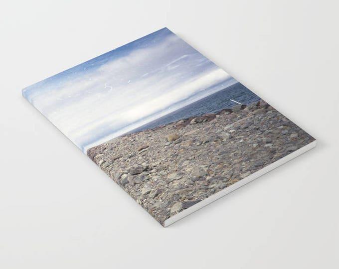 Notebook - Rockaway Beach Oregon - Beach Theme Notebook - Journal - Blank Book - Lined - Unlined - Made to Order