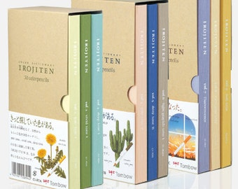Tombow Irojiten No.1, 2, 3 Full Volume 90 Colored Pencils Dictionary Vol.1-9
