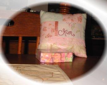 Country Decor Pillow & Soap