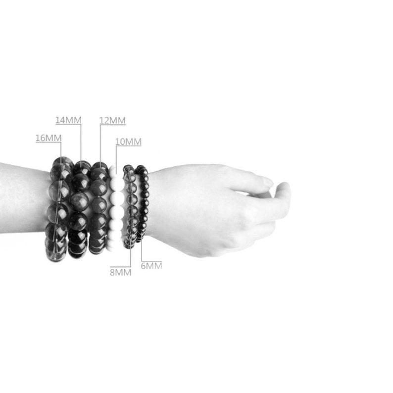 Premium Natural Gemstone Bracelet Morganite