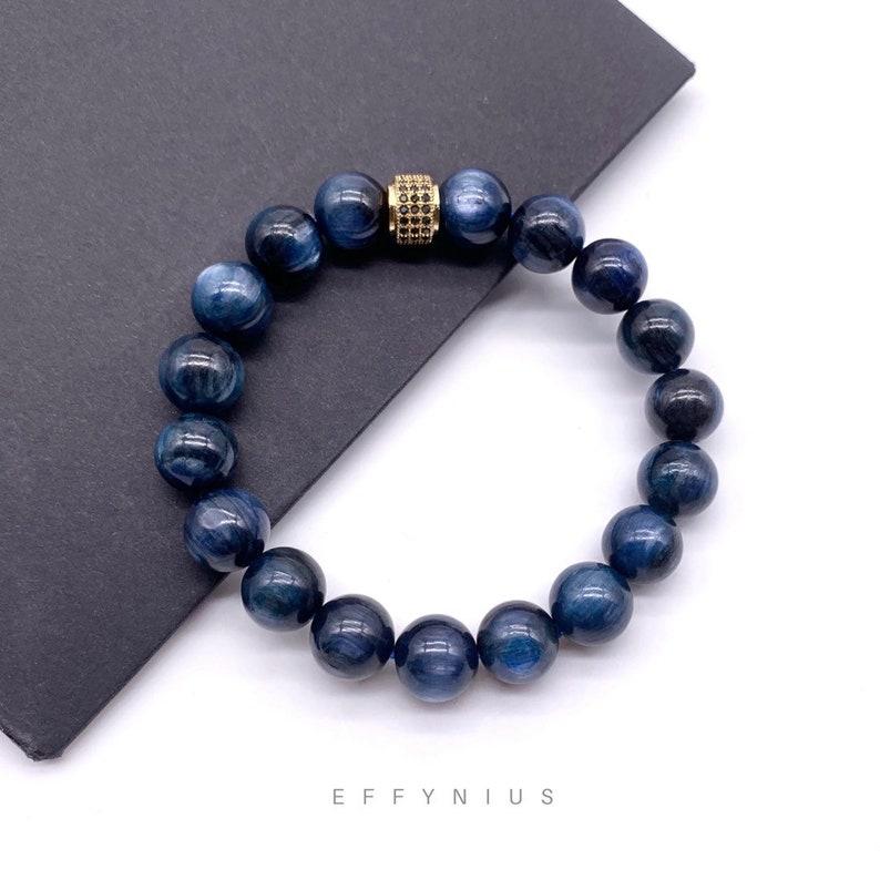 Blue Kyanite The Classic Premium Natural Gemstone Bracelet