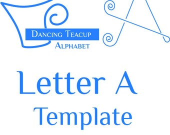 teacup template etsy