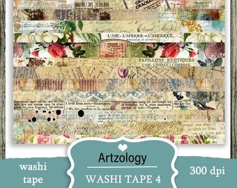 Washi Tape 4, Printable, NO. 439