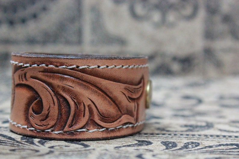Custom and Personalised Gift Handmade by Claudio Nosari Leather Cuff Leather Bracelet Leather Wrap Bracelet Cuff Wrap