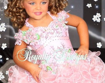 Custom Designed High Glitz pageant dresses 6fa3db9cbf92