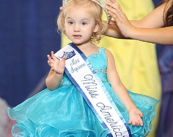 Custom made Baby Doll Pageant Dresses