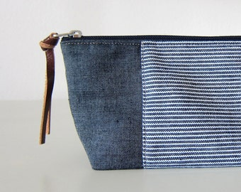 1152cbaa775758 Nautical cosmetic bag