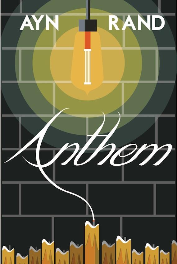 Anthem Poster Print Etsy
