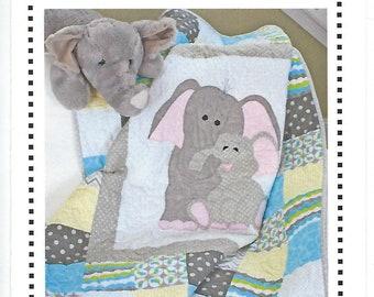 Baby covercrawl blanket patchwork elephant *