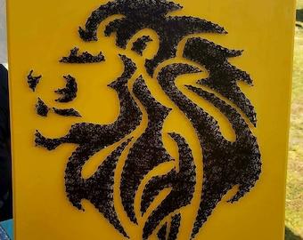 Lion String Art Etsy