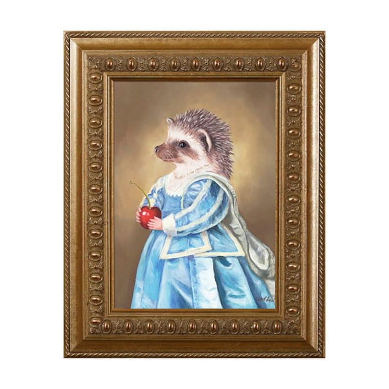 Mrs Hedgehog Magnet Gifts for Hedgehog Lovers Hedgehog image 0