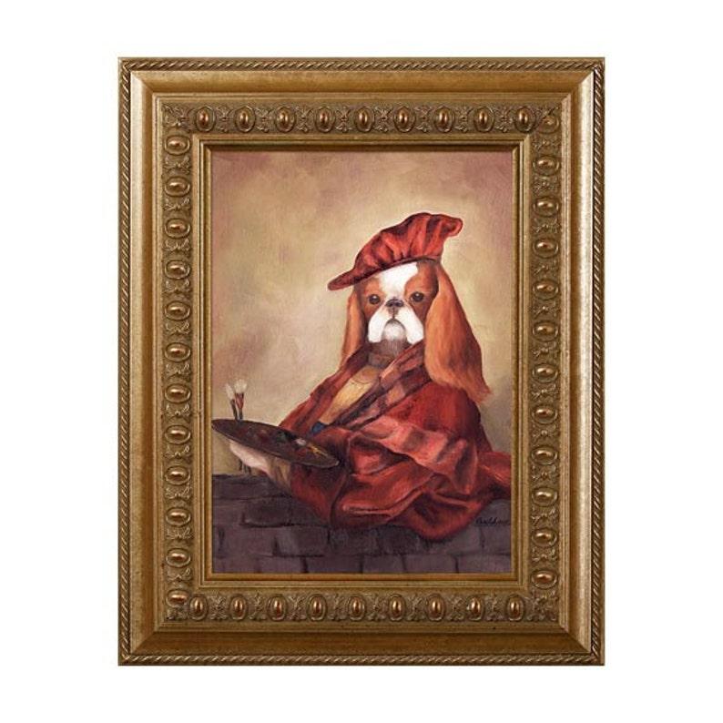 Dog Magnet Charles Rembrandt Cavalier King Charles Spaniel image 0