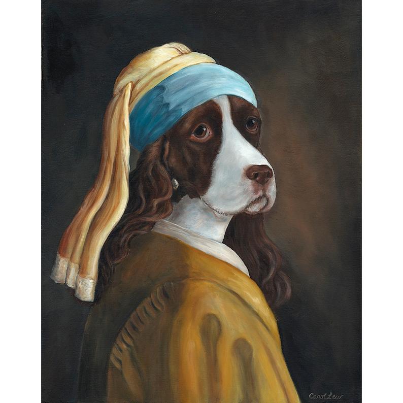 Spaniel Prints Springer Dog Mom Gift Dog Owner Gift Gift image 0