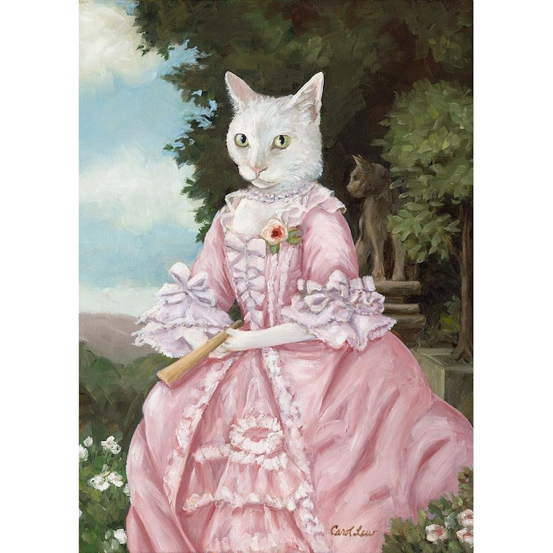 Cat Poster Ideas Funny Cat Posters Cat Print Dress Cat Lady image 0
