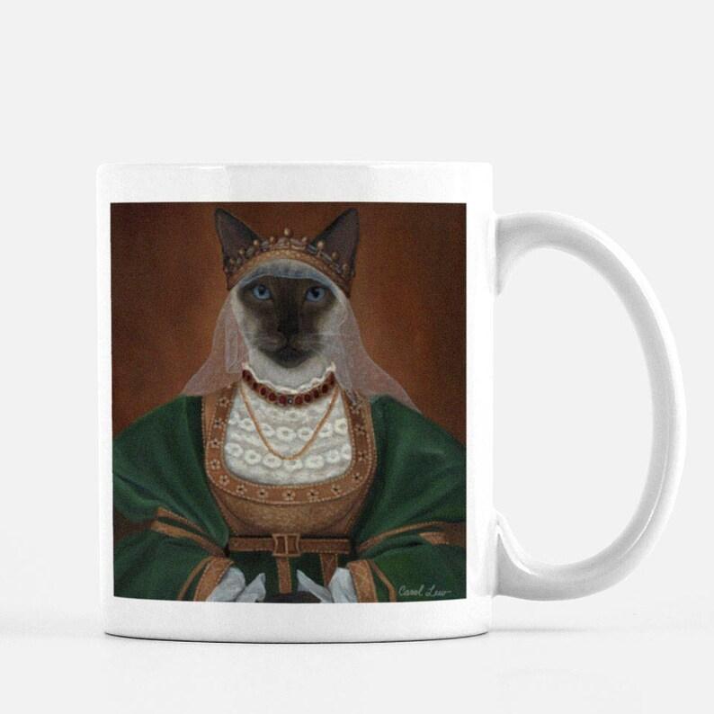 Cat Mug Cute Best Cat Lover Gift Mugs for Cats Kitty Lover image 0