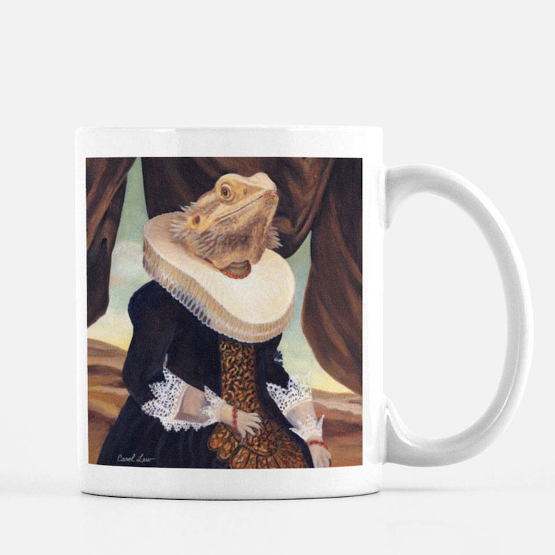 Bearded Dragon Bearded Dragon Gifts Coffee Mug Mugs image 0