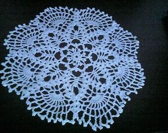 Doily Crocheted doily Home decor Napperon ronde au crochet
