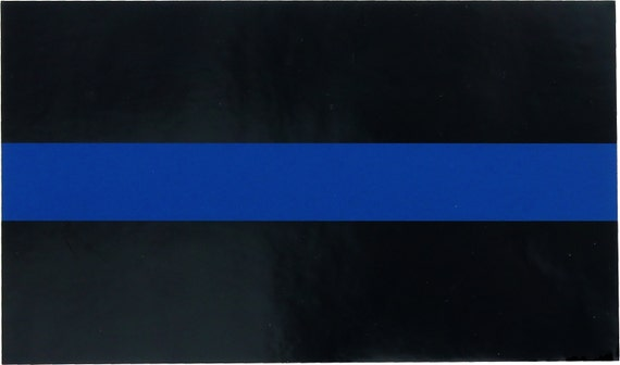 Thin Blue Line Support The Police Logo Sticker 4.5 x  e28e7c2f2a6