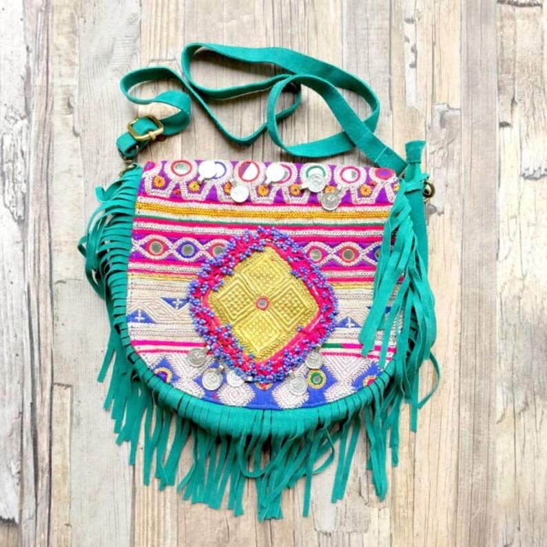 Boho tribal Banjara Crossbody bag image 0