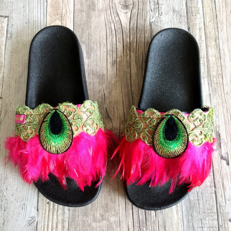 Gypsy Ibiza slide-on slippers Size 40 by Dazzling Gypsy Queen image 0