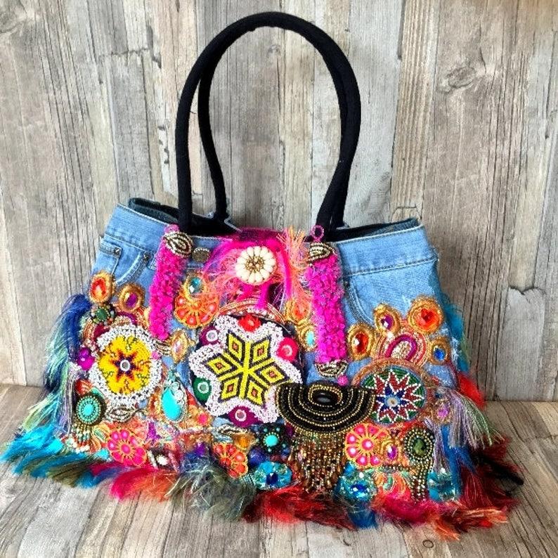 Louis Asscher handbag handmade Ibiza bag Designer bag louis image 0