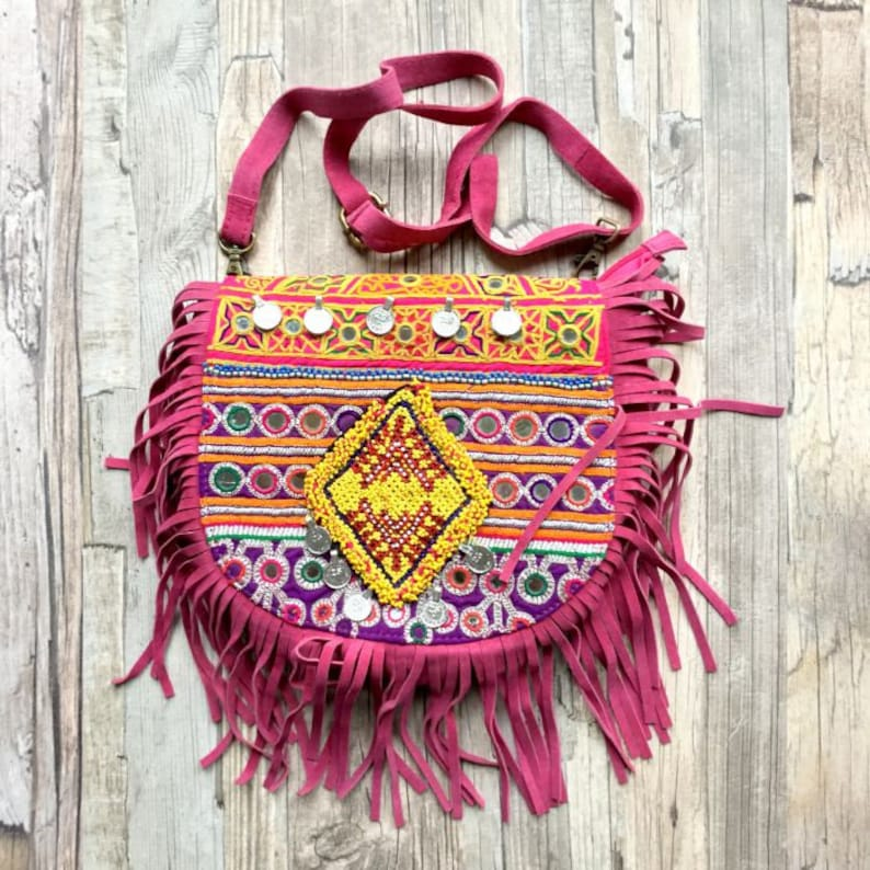 Boho tribal Banjara Crossbody bag image 0
