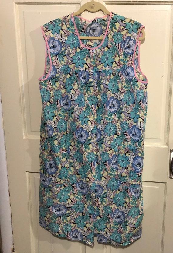 Vintage Artistic Creations Smock Apron Day Dress F