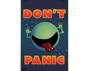 Hitchhikers Guide to the Galaxy (Don't Panic)